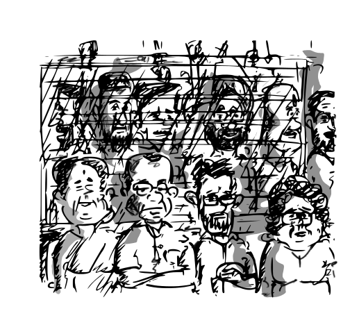 mumbai local trains cartoon