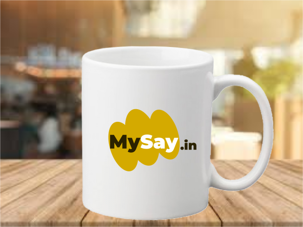 MySay Logo Coffee Mug