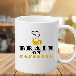 Coffee Mug - Brain On Caffeine